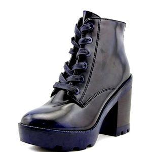 Aldo serinna boots, blue navy size 8.5 us